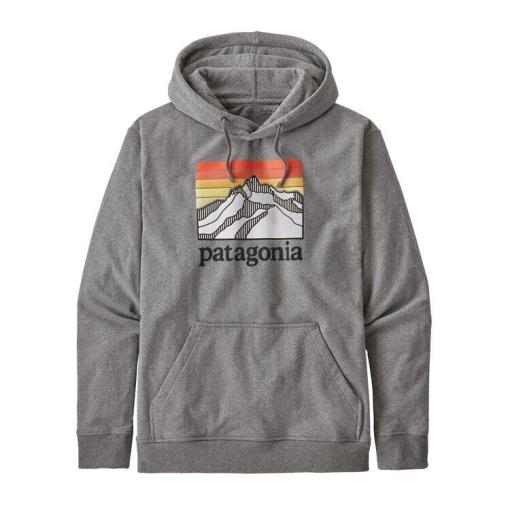 Patagonia Line Logo Ridge Uprisal Hoody Gravel Heather GLH 39584