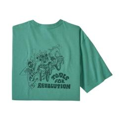Patagonia Tools For Revolution Responsibili-Tee® Light Beryl Green LBYG 38507