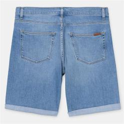 Carhartt Swell Short Blue Worn Bleached