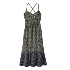 Patagonia Lost Wildflower Dress Cover Crop Small: New Navy CSNN