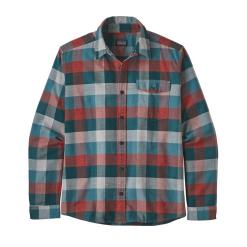 Patagonia Long-Sleeved Lightweight Fjord Flannel Shirt Unbroken: Piki Green UNPG