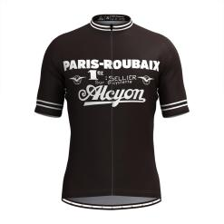 Freestylecycling Retro Paris Roubaix Men's Cycling Jersey