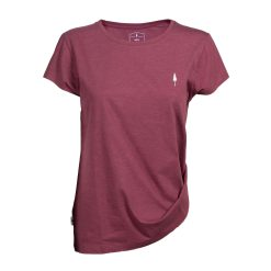 Nikin TreeShirt Basic Women Bordeaux Mel