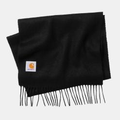 Carhartt Clan Scarf Wool Black