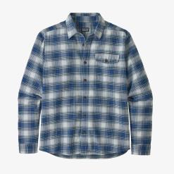 Patagonia Lightweight Fjord Flannel Shirt Grange: Superior Blue GRSB