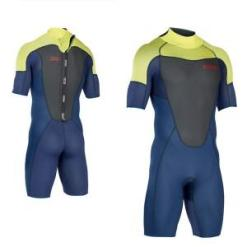 ION Wetsuit FL Element Shorty SS 2.5 Backzip Blue