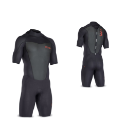 ION Wetsuit FL Element Shorty SS 2/2 Backzip Black