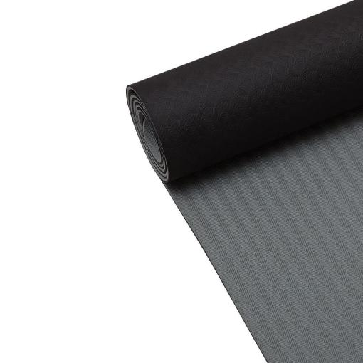 Casall Yoga Mat Position 4mm Black/Grey