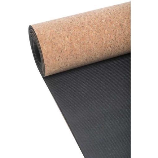 Casall Yoga Mat Natural Cork 5mm Natural Cork/Black
