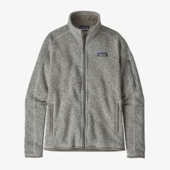 Patagonia Women's Better Sweater Fleece Jacket Birch White BCW
