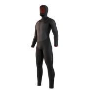 Mystic Voltt Hooded Fullsuit 6/4/3mm Fzip Black