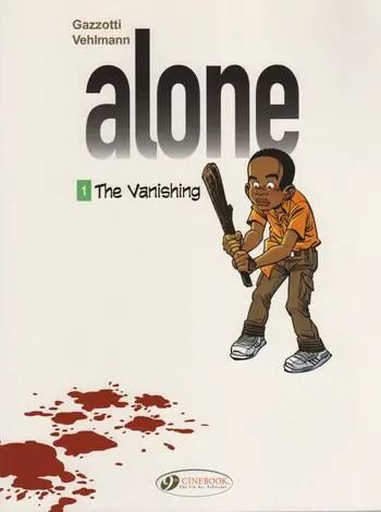 Alone v1 on Cinebook and hopefully soon on Comixology