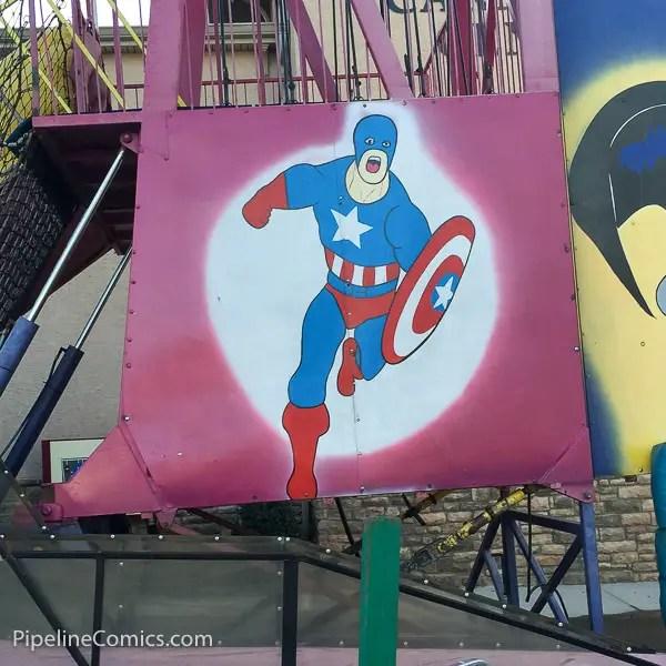 Carnival Avengers Captain America