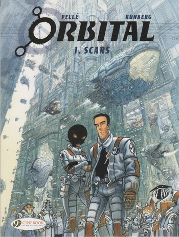 Orbital v1 on Cinebooks on Comixology
