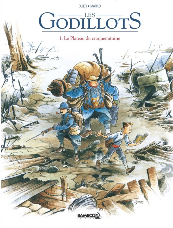 Les Godillots by Marko and Olier, Book 1 cover