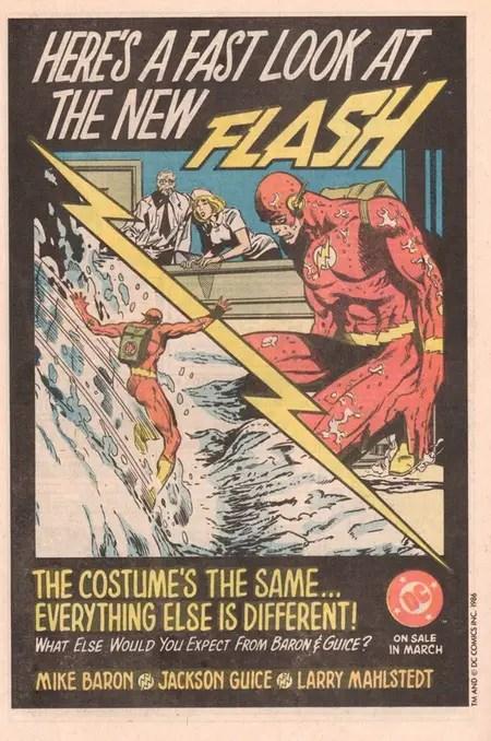 Flash Ad in Suicide Squad #1