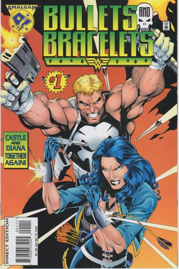 Bullets and Bracelets cover by Gary Frank. John Ostrander wrote the book.