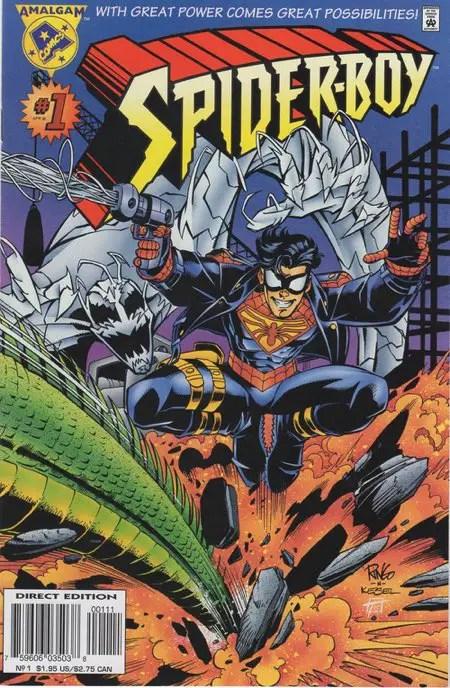 Spider-Boy #1 from Amalgam