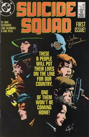 Suicide Squad #1 cover