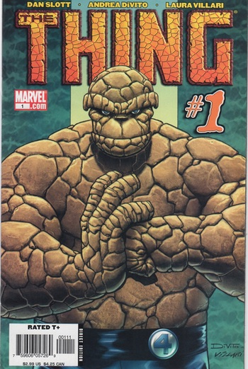 The Thing #1 cover