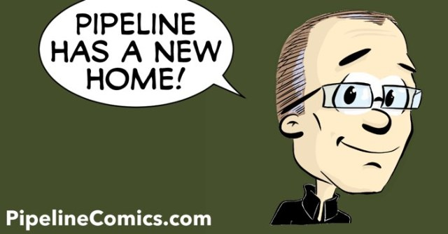 Pipeline has a new home at PipelineComics.com