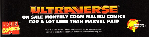 Ultraverse is cheaper than what Marvel paid for Malibu