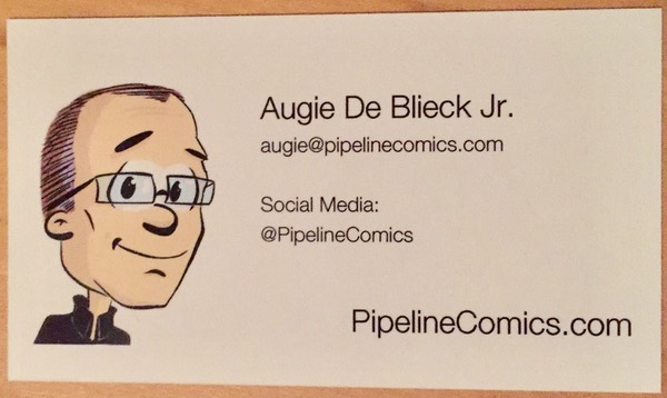 The new Pipeline business card, back side