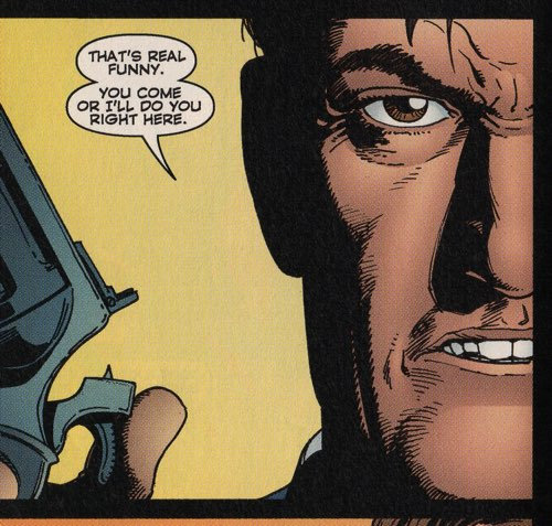 Was Steve Dillon an influence on Gary Frank?