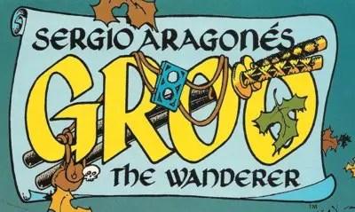 Sergio Aragones' Groo #111 cover logo