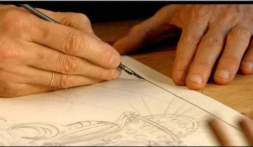 Francois Schuiten's steady hand.
