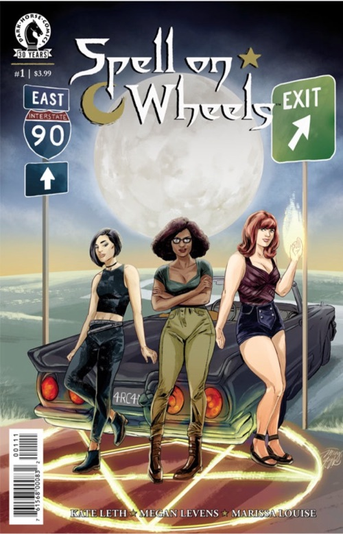 Spell on Wheels cover by Ming Doyle