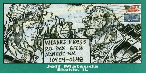 Wizard Fan Art from Jeff Matsuda