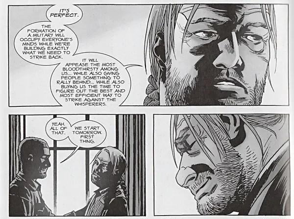 Rus Wooton letters The Walking Dead