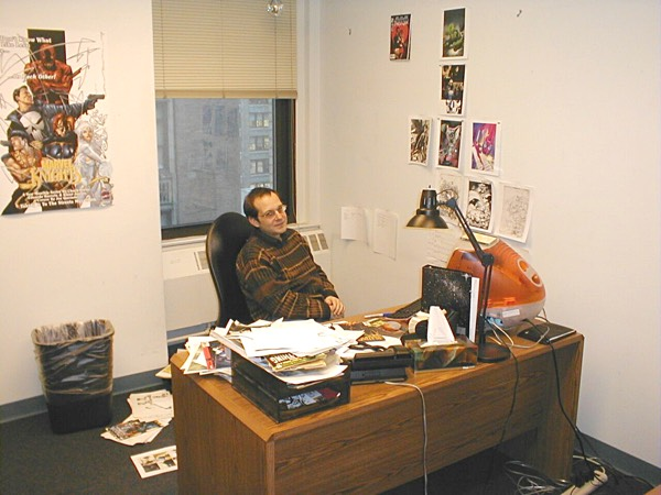 Stuart Moore at Marvel Comics 2000