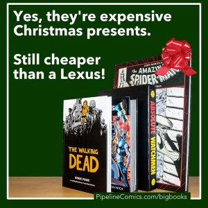 Give the gift that keeps on giving: A book!  Cheaper than a Lexus!  Red bows still work!