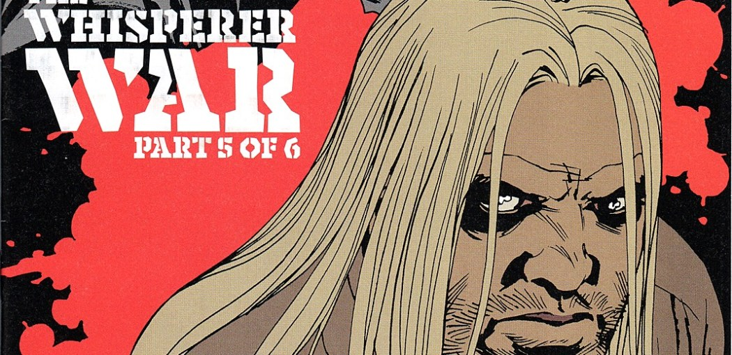 The Walking Dead #161 cover by Robert Kirkman, Charles Aldlard, Dave Stewart