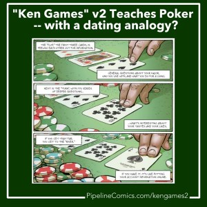 Ken Games v2 teaches Texas Hold Em poker