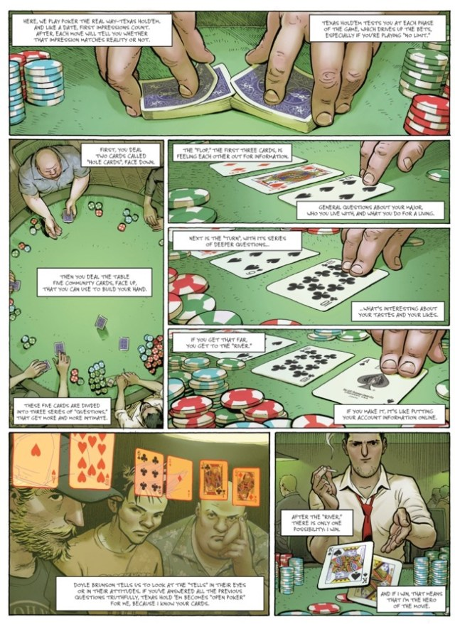 The second page of Ken Games v2 explains poker