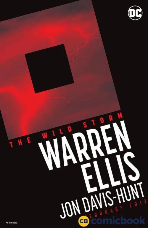 WildStorm House Ad for Warren Ellis' run