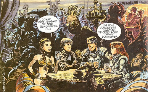 """Star Wars """"influenced"""" by Valerian and everyone knows it."""