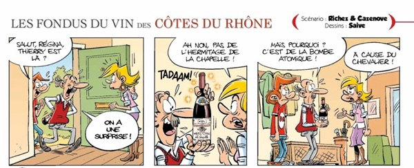 Les Fondus Du Vin -- even wine lovers deserve a comic
