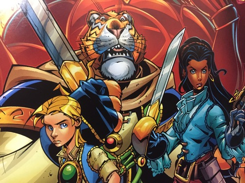 Tells cover by Mike Wieringo and Paul Mounts