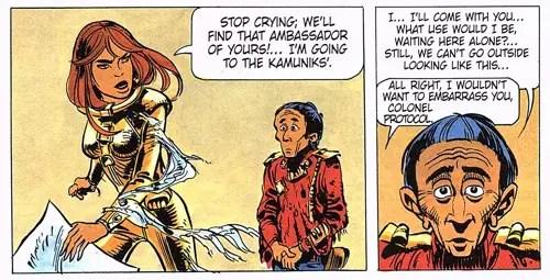 Valerian v6: Laureline gets to work