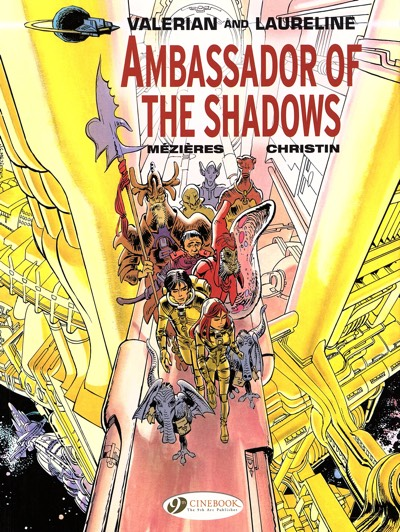 Valerian and Laureline v6 Ambassador of the Shadows cover