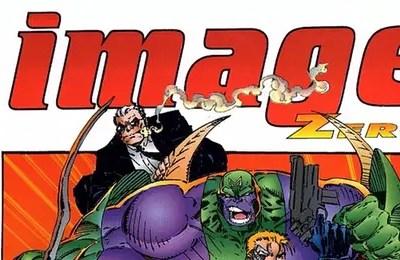Image Zero front cover logo