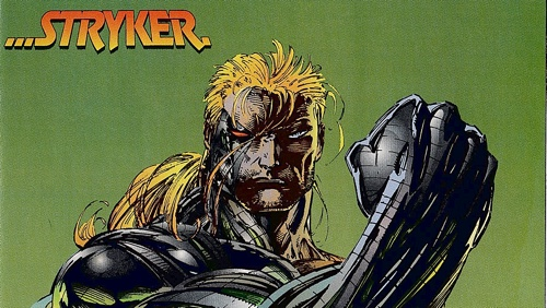 Marc Silvestri's Image Zero contribution, starring Stryker from CyberForce