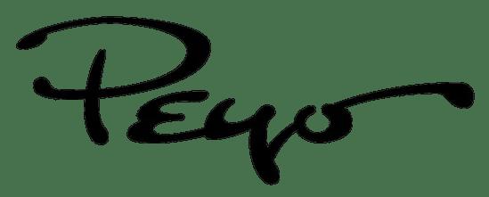 Smurfs creator Peyo's signature