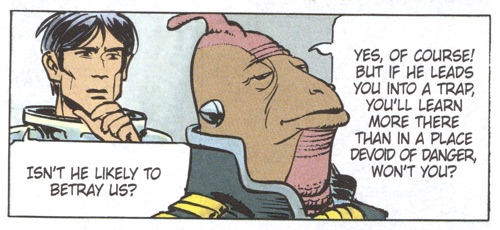 In Valerian v15, policing and politics are a confusing and hilarious thing