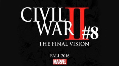 Civil War II added an eight issue