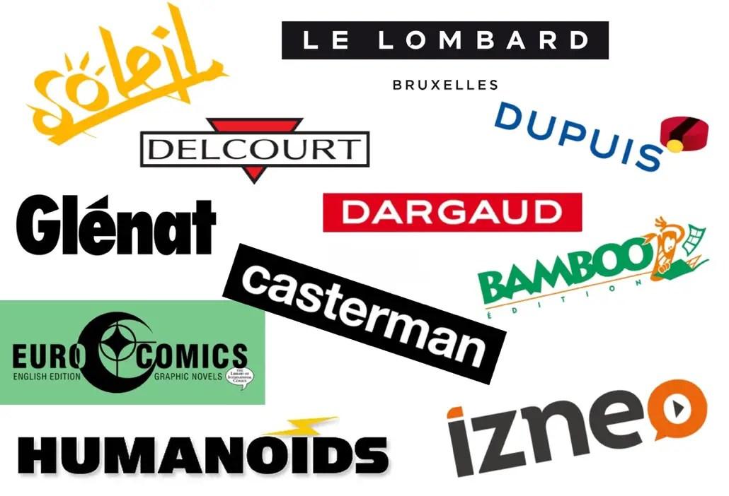 French Publishers Logos